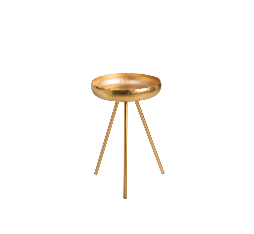 Side tables Round Ironwork Gold