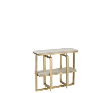 J-Line Console table Rectangle - Gold