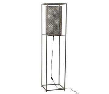 J-Line Floor Lamp On Tripod Gray - Large