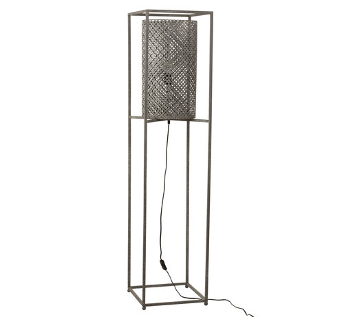 J -Line Floor Lamp On Tripod Gray - Large