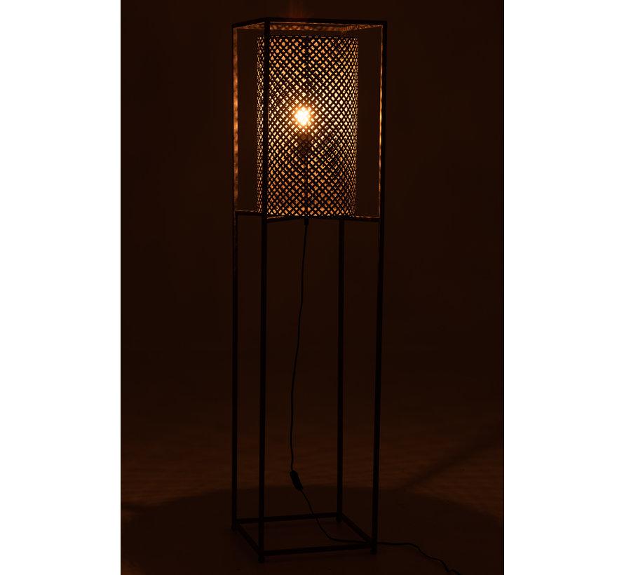 Staande Lamp Op Statief Grijs - Large