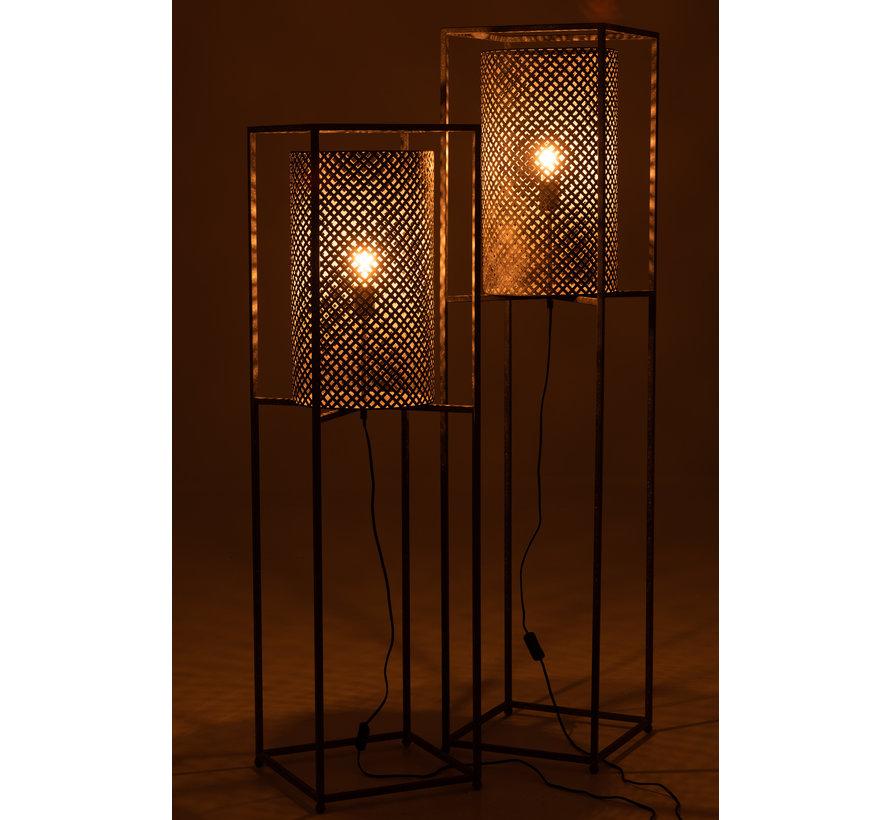 Floor Lamp On Tripod Gray - Large