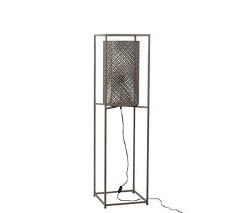 J -Line Floor Lamp On Tripod Gray - Small