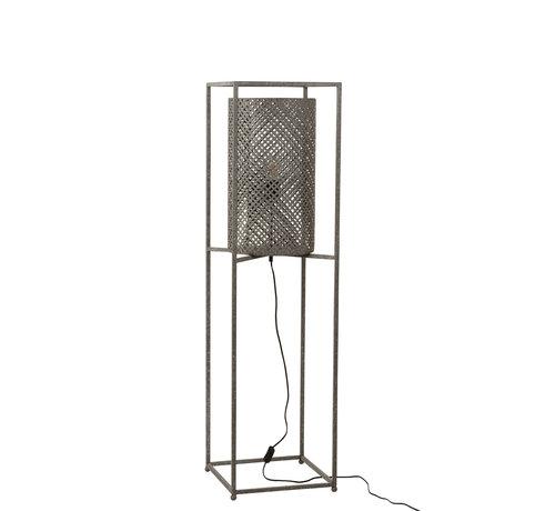 J-Line Staande Lamp Op Statief Grijs - Small