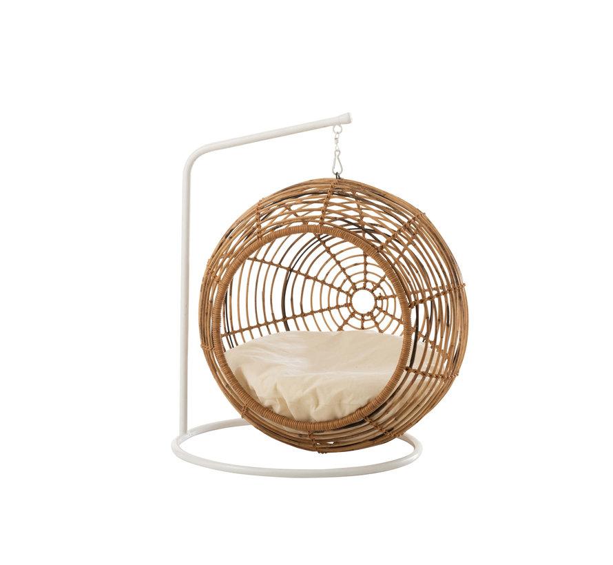 Hanging chair Animal Rattan Natural