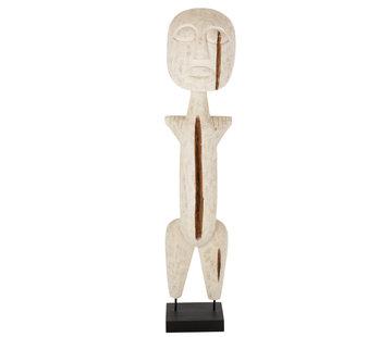 J-Line Decoration Sculpture Primitive Wood Extra Large