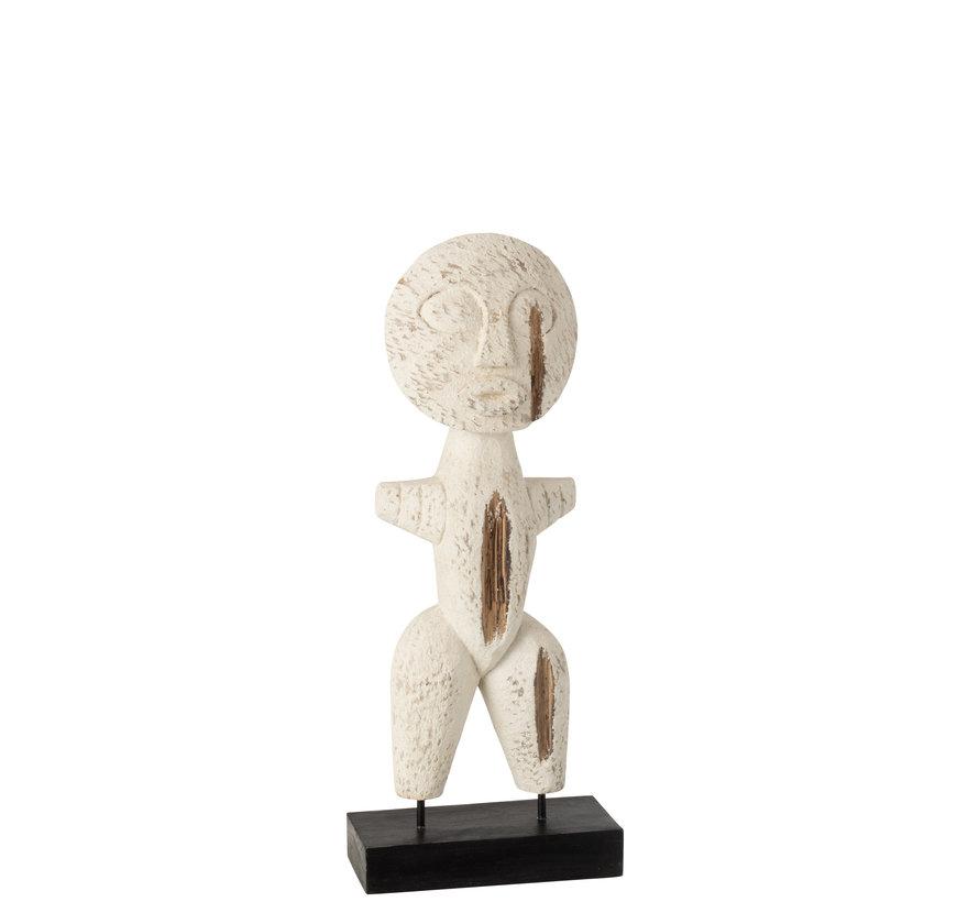 Decoration Sculpture Primitive Wood Small