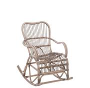 J-Line Rocking Chair Bamboo Gray
