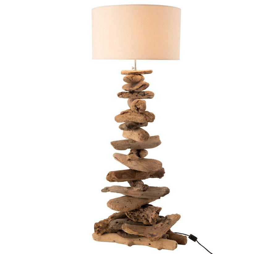 Floor Lamp Driftwood Medium
