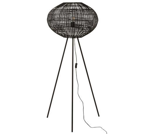 J -Line Staande Lamp Driepoot Zwart Large