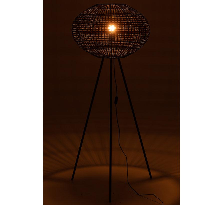 Staande Lamp Driepoot Zwart Large
