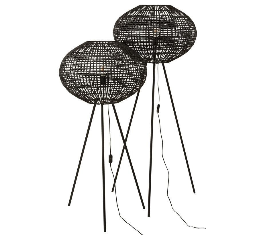 Floor Lamp Tripod Black Large