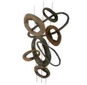 J-Line Wall decoration Oval Circles Small