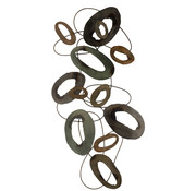 J-Line Wall decoration Oval Circles Large
