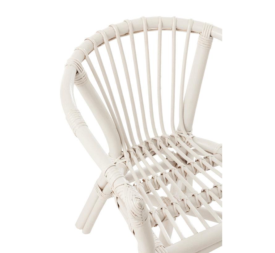 Children's chair Rural Rattan White