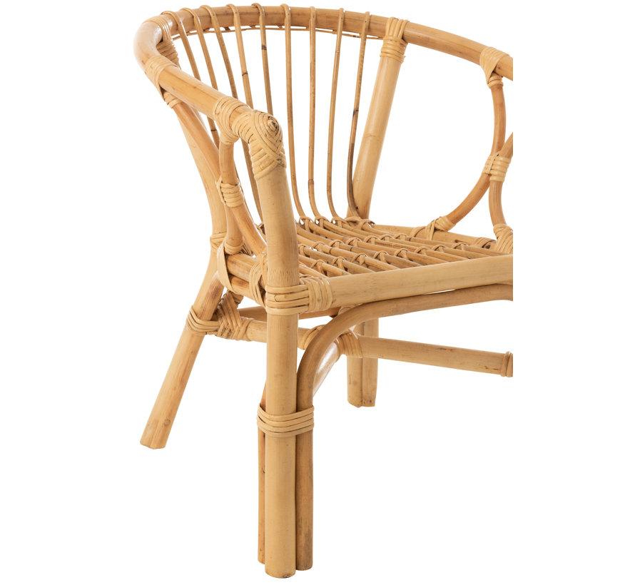 Kinderstoel Landelijk Rotan Naturel