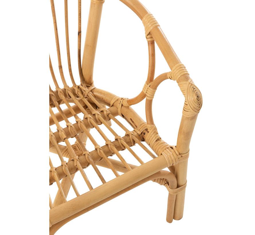 Children's chair Rural Rattan Natural