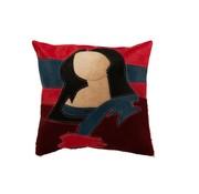 J-Line Cushion Square Mona Lisa Leather