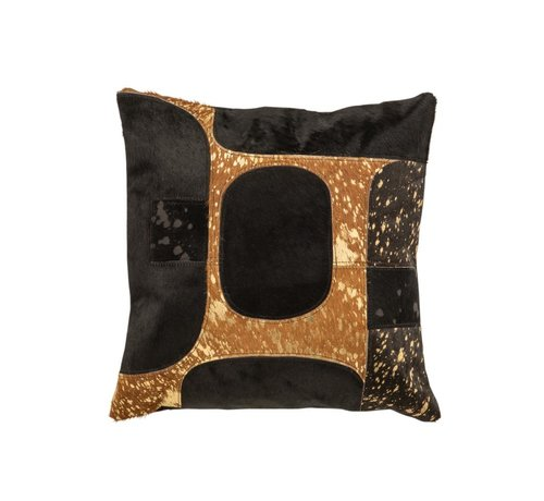 J-Line Cushion Square Modern Leather