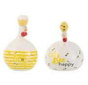 J-Line Decoratie Kippen Honingbijen Large