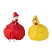 J-Line Decoration Chicken Raincoat Large