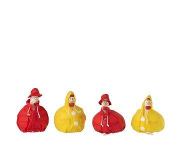 J-Line Decoration Chicken Raincoat Small