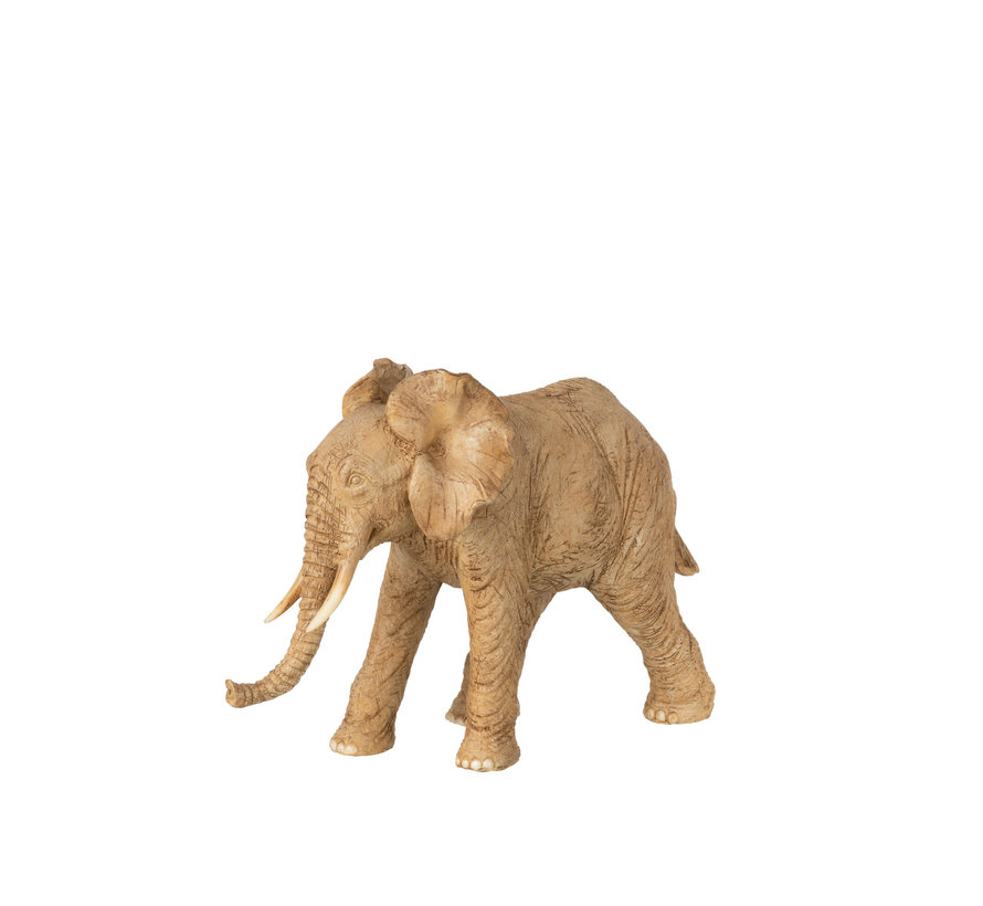 Decoration Elephant Standing Brown