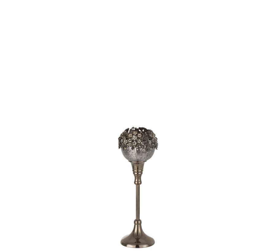 Tealight Holder On Foot Jewel Medium
