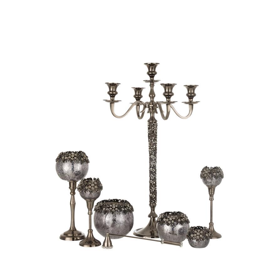 Candlestick Jewelery Smokey Grey