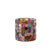 J-Line Tealight Holder Summer Mix Colors Medium