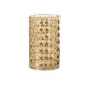 J-Line Tealight Holder Mosaic Gold Extra Large