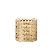 J-Line Tealight Holder Mosaic Gold Large