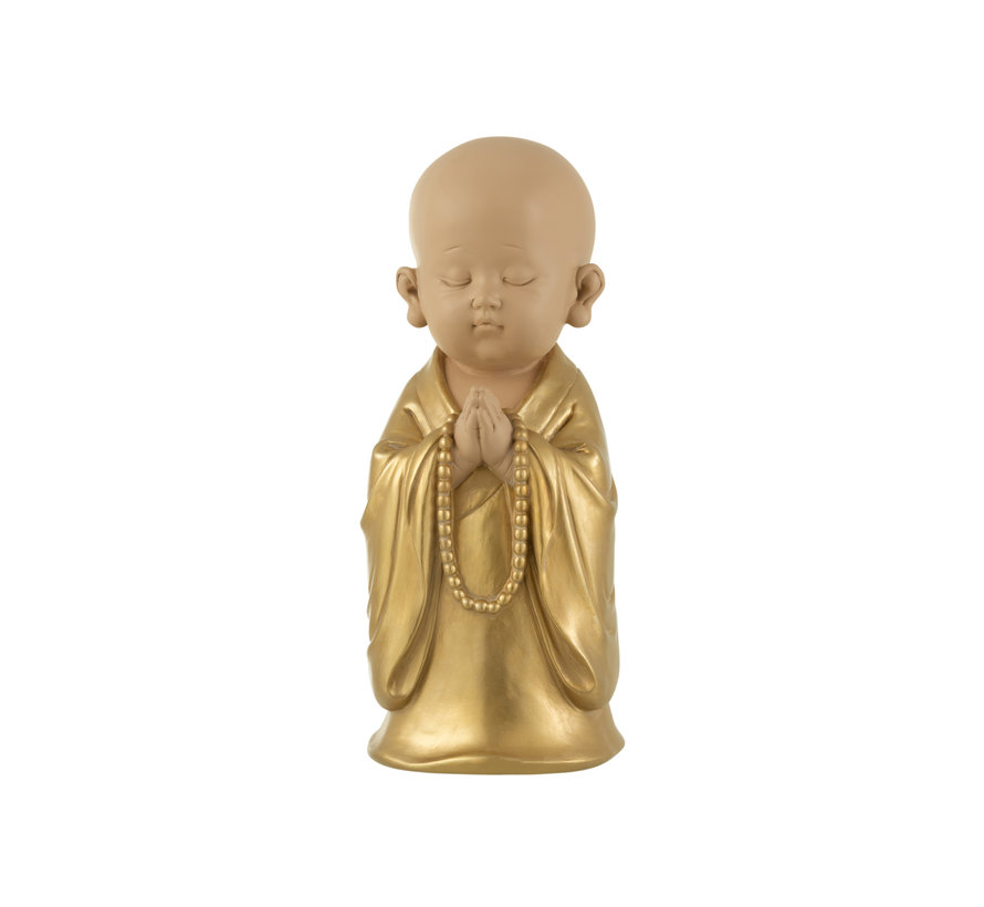 Decoration Monk Pearls Gold Large