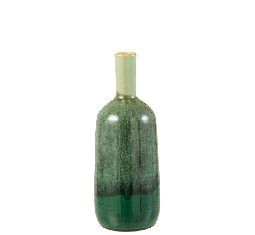 Bottles Vase Green Ceramic Small