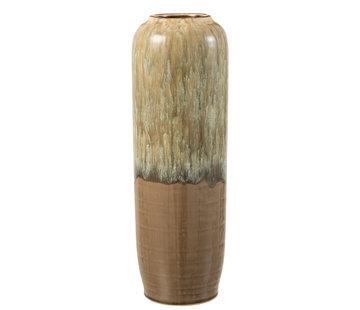 J-Line Vase Beige Ceramic Large