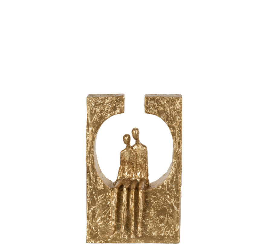 Decoration Couple Circle Gold