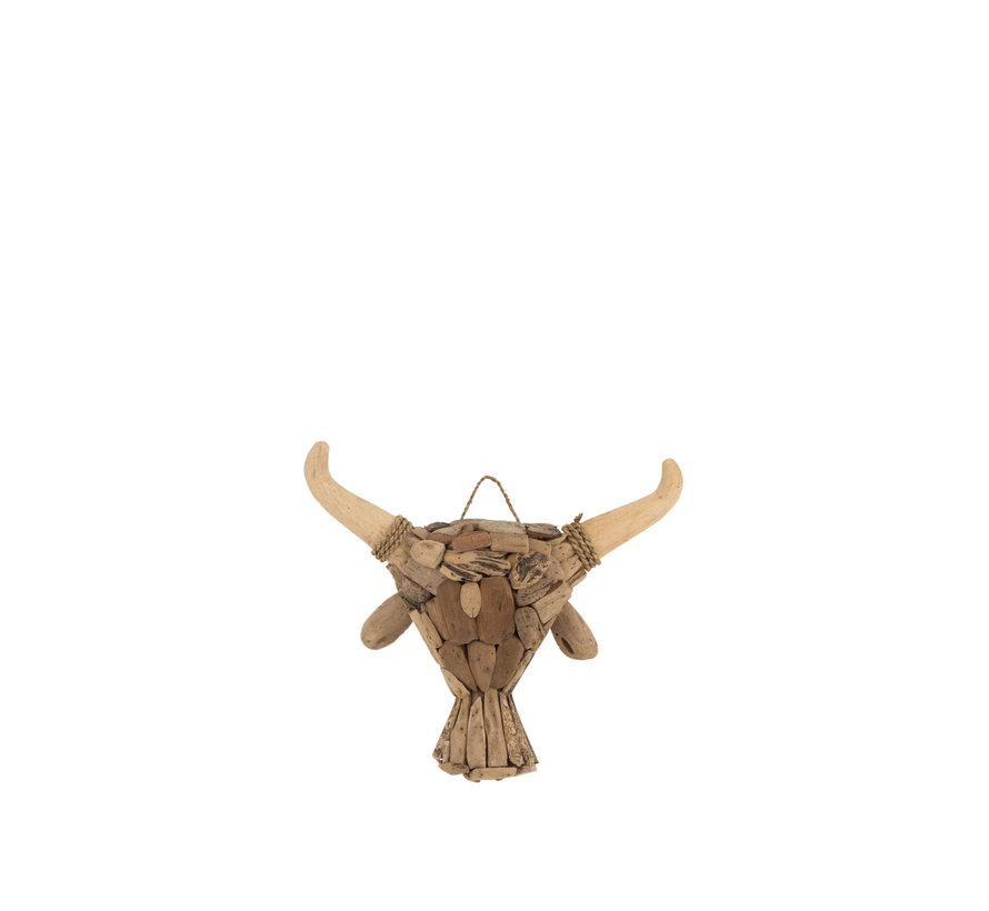 Wall decoration Taurus Driftwood Small