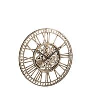 J-Line Wall Clock Round Radar Antique Gray