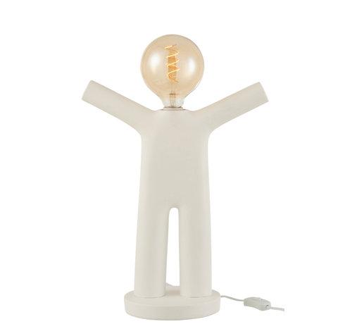 J-Line  Table lamp P'tit Maurice White
