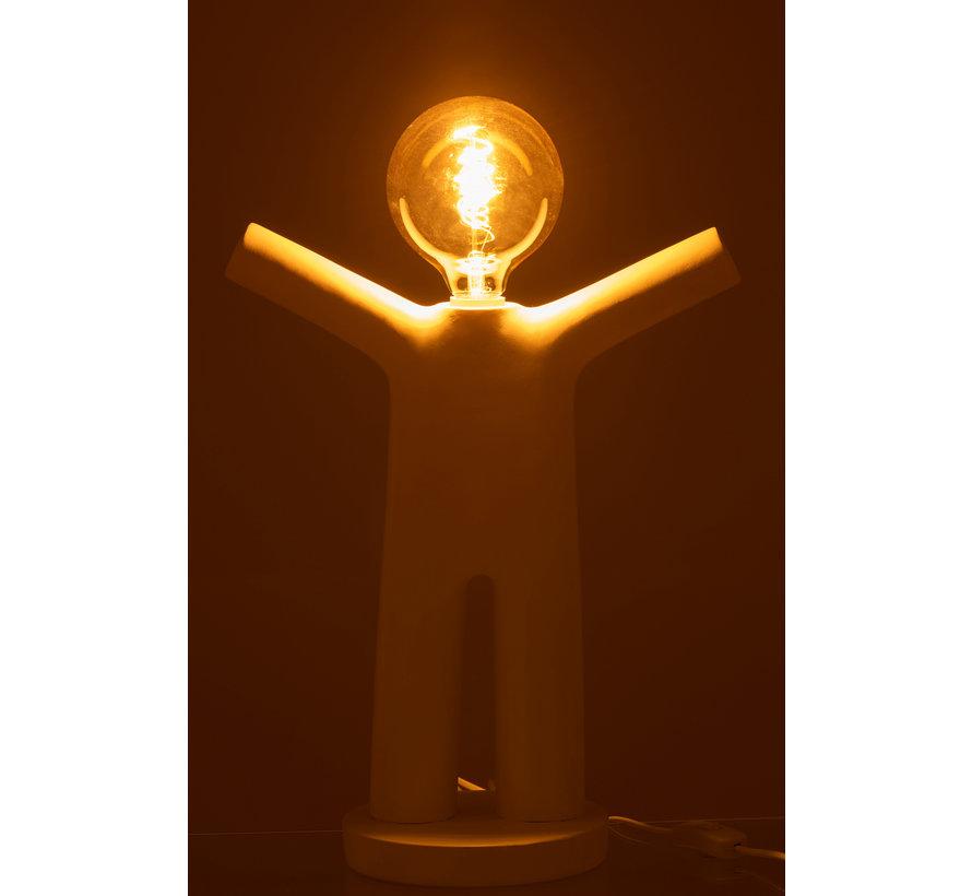 Table lamp P'tit Maurice White