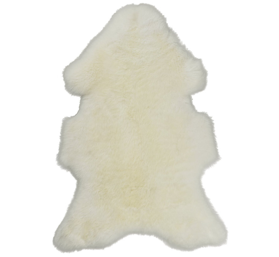 Sheepskin Natural White Medium