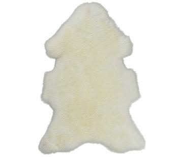 Van Buren  Sheepskin Natural White Small