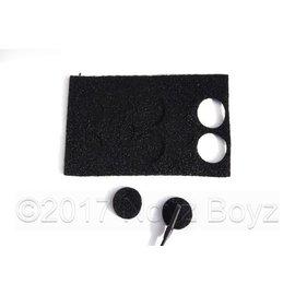 Rycote 25x Undercovers Black