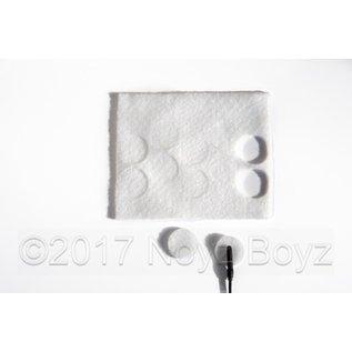 Rycote Rycote 25x Undercovers White
