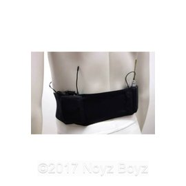 Ursa Waist Strap Black Double Pack M-BL