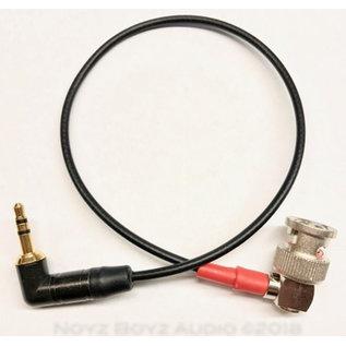 Noyz Boyz Cables Noyz Boyz Cables 3.5mm jack > BNC