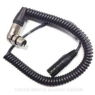 Noyz Boyz Cables Noyz Boyz Cables Curly boom cable XLR3p
