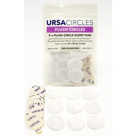 Ursa Plush Circles White