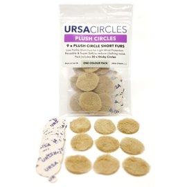 Ursa Plush Circles Beige