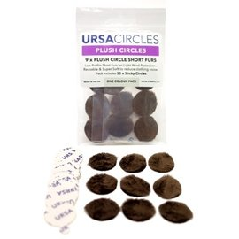 Ursa Plush Circles Brown